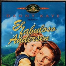 Cinema: EL FABULOSO ANDERSEN DVD (DANNY KAYE) FUE EL CREADOR DE LOS MARAVILLOSOS CUENTOS PARA NIÑOS.. Lote 210039197