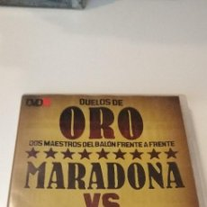 Cine: G-10 DVD LOTE DE 12 DVD MARCA FUTBOL DUELOS DE ORO FALTA UNO PARA COMPLETAR VER FOTOS. Lote 210054565