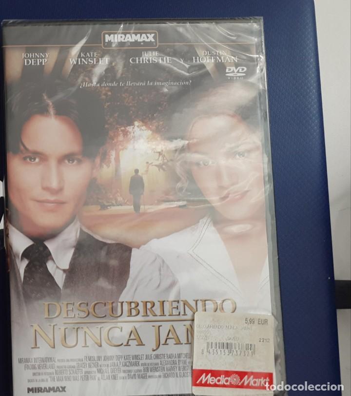 DESCUBRIENDO EL NUNCA JAMAS (Cine - Películas - DVD)