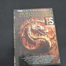 Cine: DVR. 569 MORTAL KOMBAT CONQUEST ‐DVD METIDO EN SLIM CON SLICOVER RECOR. Lote 210082465