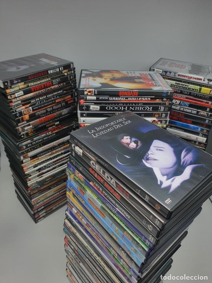 GRAN LOTE DE 160 PELÍCULAS DVD ( VER FOTOS ) (Cine - Películas - DVD)
