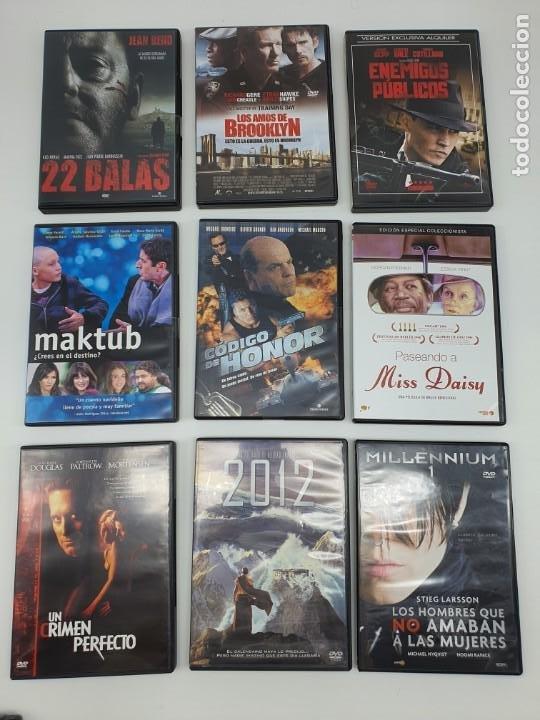 Cine: GRAN LOTE DE 160 PELÍCULAS DVD ( VER FOTOS ) - Foto 9 - 210087765