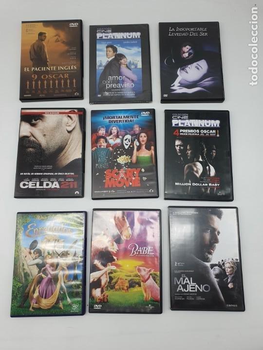 Cine: GRAN LOTE DE 160 PELÍCULAS DVD ( VER FOTOS ) - Foto 21 - 210087765