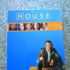 Cine: DVD -- HOUSE -- TEMPORADA UNO COMPLETA -- 6 DVDS --. Lote 210101328