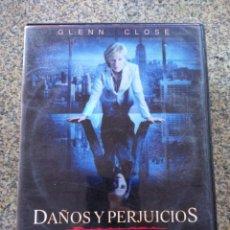 Cine: DVD -- DAMAGES -- DAÑOS Y PERJUICIOS -- PRIMERA TEMPORADA -- 3 DISCOS --. Lote 210101900
