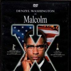 Cine: MALCOM X DVD (SPIKE LEE) TAN REVOLUCIONARIO COMO M.L. KING..IGUALMENTE ASESINADO ...SUPER-PREMIADA. Lote 210226965
