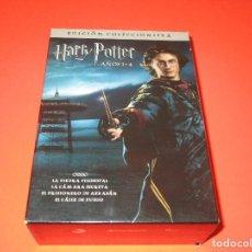 Cine: HARRY POTTER ( AÑOS 1-4 / EDICION COLECCIONISTA ) - DVD - WARNER BROS. Lote 210281228