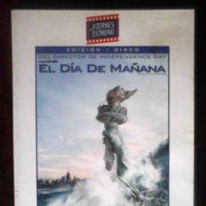 Cine: TODODVD: EL DÍA DE MAÑANA (DENNIS QUAID, JAKE GYLLENHAAL, IAN HOLM, EMMY ROSSUM, SELA WARD). Lote 210347308