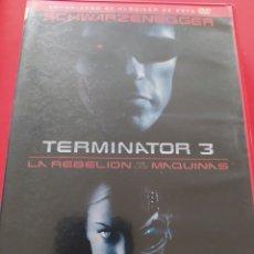 Cine: DVD TERMINATOR 3 EDICIÓN VIDEOCLUB. Lote 210372563