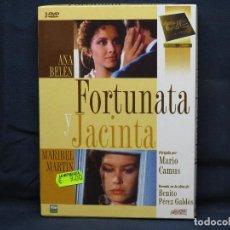 Cine: FORTUNATA Y JACINTA - DVD. Lote 210376028