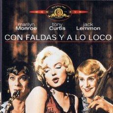 Cinema: CON FALDAS Y A LO LOCO MARILYN MONROE. Lote 210519296