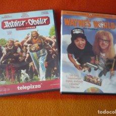 Cine: WAYNE'S WORLD ( MIKE MYERS ) + ASTERIX Y OBELIX CONTRA CESAR ( DEPARDIEU ) DVD COMEDIA. Lote 210567947