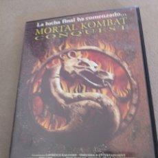 Cine: DVD MORTAL KOMBAT CONQUEST DE FILMAX. Lote 210568916