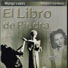 Cine: EL LIBRO DE PIEDRA - MARGA LOPEZ , JOAQUIN CORDERO DVD. Lote 210619883