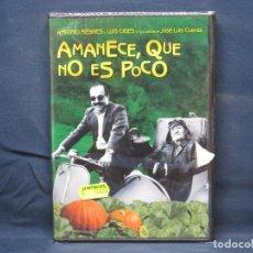 Cine: AMANECE QUE NO ES POCO - DVD. Lote 210637470