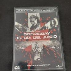 Cine: V132 DOOMSDAY EL DÍA DEL JUICIO- SEGUNDA MANO PROCEDENCIA VIDEOCLUB. Lote 210637471