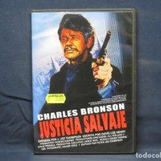 Cine: JUSTICIA SALVAJE - DVD. Lote 210639204