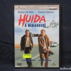 Cine: HUIDA A MEDIA NOCHE - DVD. Lote 210639561