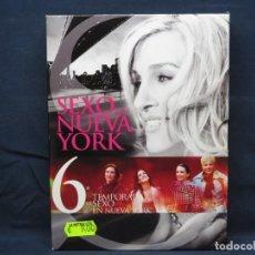 Cine: SEXO EN NUEVA YORK - TEMPORADA 6 COMPLETA - DVD. Lote 210641811