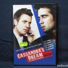 Cine: CASANDRAS DREAM - EL SUEÑO DE CASANDRA - DVD. Lote 210642450