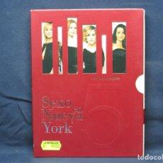 Cine: SEXO EN NUEVA YORK - TEMPORADA 5 COMPLETA - DVD. Lote 210643652