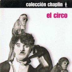 Cine: EL CIRCO CHARLES CHAPLIN ( EDICIÓN ESPECIAL 2 DISCOS). Lote 210698586