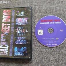 Cine: DVD BACKSTREET BOYS - HOMECOMING: LIVE IN ORLANDO JIVE - TRANS CONTINENTAL 2003. Lote 210716634