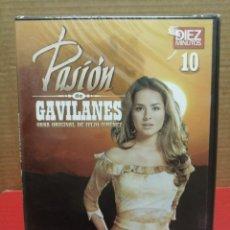 Cine: DVD 10 SERIE PASIÓN DE GAVILANES REVISTA, DÍEZ MINUTOS PRECINTADO. Lote 210800531