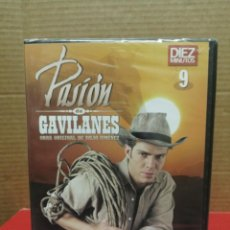 Cine: DVD 9 SERIE PASIÓN DE GAVILANES REVISTA, DÍEZ MINUTOS PRECINTADO. Lote 210800536