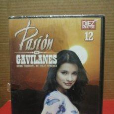 Cine: DVD 12 SERIE PASIÓN DE GAVILANES REVISTA, DÍEZ MINUTOS PRECINTADO. Lote 210800539