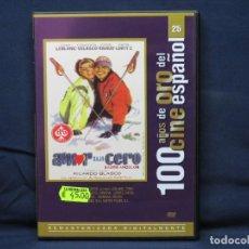 Cine: AMOR BAJO CERO - DVD. Lote 210946467