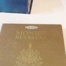 Cine: G-10 DVD MONJES BUDISTAS SAKYA TASHI LING EL PODER DEL MANTRA SOLO DVD FALTA EL CD. Lote 210974374