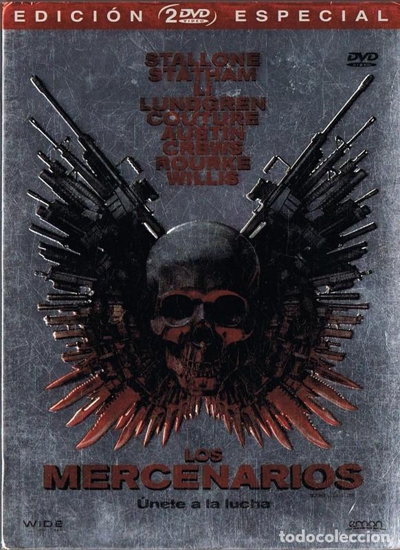 LOS MERCENARIOS STALLONE - STATHAM - LI (Cine - Películas - DVD)