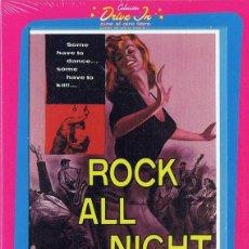 Cine: NOCHE DE ROCK ROGER CORMAN (PRECINTADO). Lote 211423706