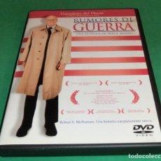 Cine: DVD RUMORES DE GUERRA / FILM DE ERROL MORRIS (UNA SOLO PASE)PERFECTO ESTADO!!. Lote 211447506