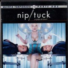 Cine: NIP TUCK DVD (QUINTA TEMPORADA- 8 EPISODIOS) LOS RETOQUES ESTÉTICOS SON DE LO MAS RARO ..Y SEXY. Lote 211448381
