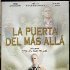 Cine: LA PUERTA DEL MAS ALLÁ DVD - UN MEDIUM DESENTRAÑA EL MISTERIO DEL ASESINATO DE SIETE NIÑOS.. Lote 211448731