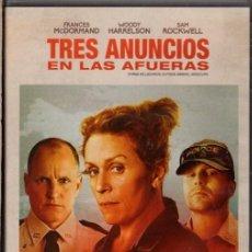 Cine: TRES ANUNCIOS EN LAS AFUERAS DVD ( 2 OSCAR DE HOLLYWOOD) UNA PELÍCULA PARA LA HISTORIA DEL CINE.. Lote 211449219