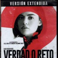 Cine: VERDAD O RETO DVD - UN ARRIESGADO JUEGO ENTRE JÓVENES QUE ROMPERÁ AMISTAD Y CREARÁ ODIOS. Lote 211449526