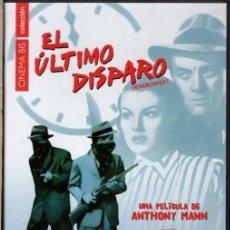 Cine: EL ULTIMO DISPARO DVD (ANTHONY MANN) FALSA ACUSACION...Y ES LA HERMANA QUIEN SE PONE A INVESTIGAR. Lote 211449749