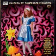 Cine: EL INICIO DE ALICIA EN EL PAIS DE LAS MARAVILLAS DVD - UN MUNDO FANTÁSTICO QUE TE ASOMBRARÁ. Lote 211450890