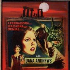 Cine: LA NOCHE DEL DEMONIO DVD (JACQUES TOURNEUR) - SÓLO FUE A LONDRES A DAR UNAS CONFERENCIAS...PERO. Lote 211451769
