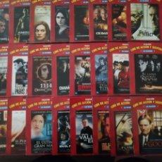 Cine: LOTE DE 40 PELÍCULAS EN DVD DE LA COLECCIÓN CINE DE ACCIÓN Y SUSPENSE. Lote 211451917