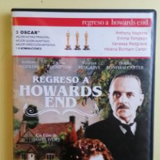 Cine: DVD. REGRESO A HOWARDS END ( ANTHONY HOPKINS - EMMA THOMPSON ). Lote 211476987