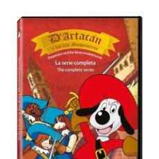 Cine: D' ARTACAN Y LOS TRES MOSQUETEROS SERIE COMPLETA DVD NUEVA PRECINTADA. Lote 211517970