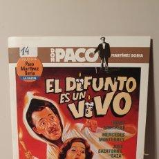 Cine: DVD/ EL DIFUNTI ES UN VIVO / COLECCIÓN DON PACO MARTÍNEZ SORIA / (REF.D.7 ). Lote 211518587