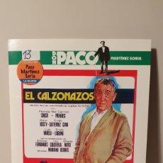 Cine: DVD/ EL CALZONAZOS / COLECCIÓN DON PACO MARTÍNEZ SORIA / (REF.D.8 ). Lote 211518725