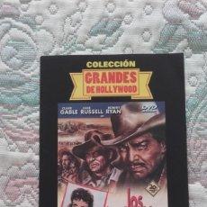 Cine: DVD LOS IMPLACABLES, DE RAOUL WALSH, CON CLARK GABLE Y JANE RUSSELL. Lote 211526086