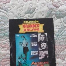 Cine: DVD ANGELES SIN BRILLO, DE DOUGLAS SIRK, CON ROCK HUDSON, ROBERT STACK Y DOROTHY MALONE. Lote 211526100