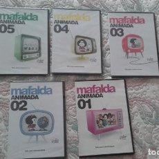 Cine: DVD MAFALDA Nº 1 A 5 (COLECCION COMPLETA), DE DG PRODUCCIONES (PRECINTADOS MENOS Nº 1). Lote 211526221